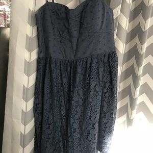 Cue lace bottom/corset top style day dress